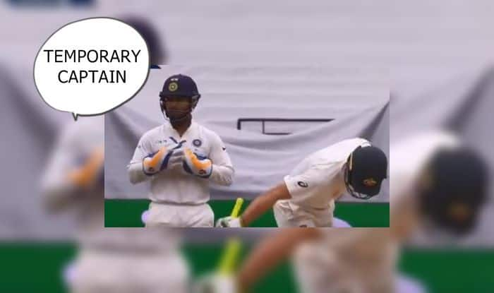 India Vs Australia 3rd Test Melbourne Rishabh Pant Gives It To Tim Paine Calls Him Temporary Captain Umpire Ian Gould Warns Wicketkeeper Watch India Com