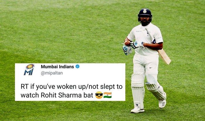 Australia vs India 1st Test: Rohit Sharma Mumbai Indians IPL