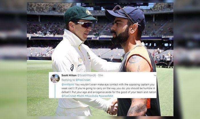 2nd Test Australia vs India: Virat Kohli Not Looking