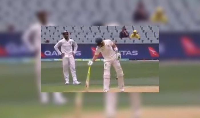 Australia vs India 1st Test: Virat Kohli Gives Tim Paine an Earful During Jasprit Bumrah's Spell   WATCH