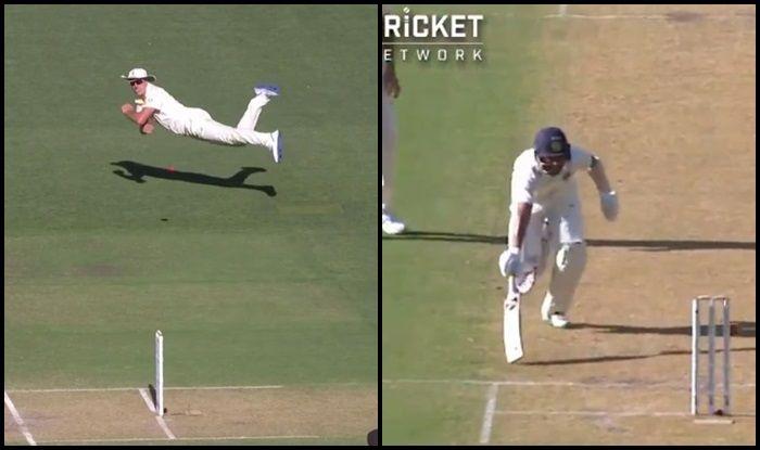 Australia vs India 2018, 1st Test: Pat Cummins Stunning Throw Sends Cheteshwar Pujara Packing After Brilliant Hundred in Adelaide