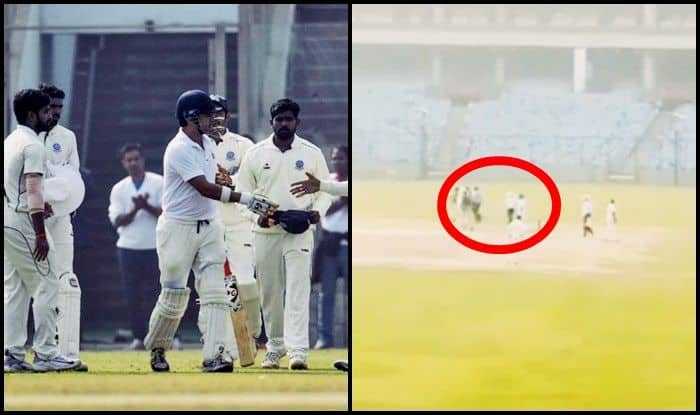 Ranji Trophy, Delhi vs Andhra Pradesh: Gautam Gambhir Gets Guard of Honour, Fan Touches Feet at Farewell Match