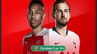 EFL Carabao Cup Arsenal vs Tottenham Live Streaming in India – Preview, Team News, When And Where to Watch Online