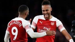 Arsenal Stars Mesut Ozil, Pierre-Emerick Aubameyang And Alexandre Lacazette Captured Inhaling Illegal Substance And Passing Out |Watch Video
