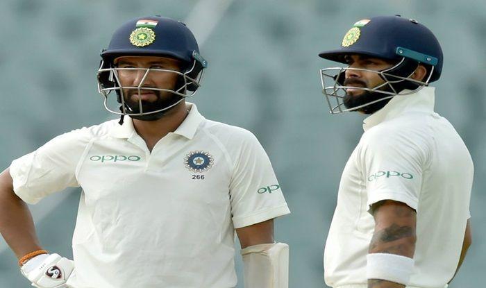 Australia vs India 2018, 1st Test in Adelaide: Cheteshwar Pujara, Virat Kohli And Bowlers Put India Ahead Against Australia on Day 3