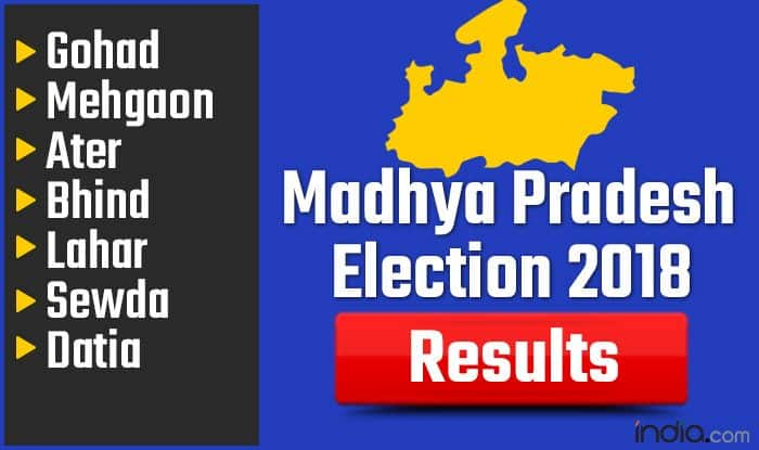 Madhya Pradesh Election 2018 Results: Gohad, Mehgaon, Ater, Bhind, Lahar, Sewda, Datia Vote Counting Live Updates