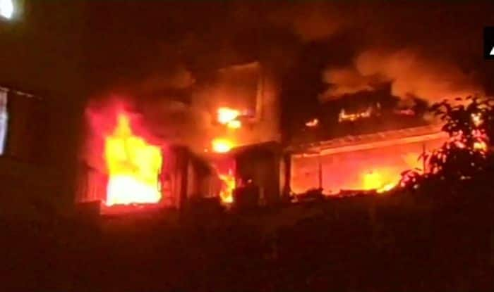 Mumbai: Major Fire Breaks Out at Flat in Kalyan's Sapphire Building, no Casualties Reported