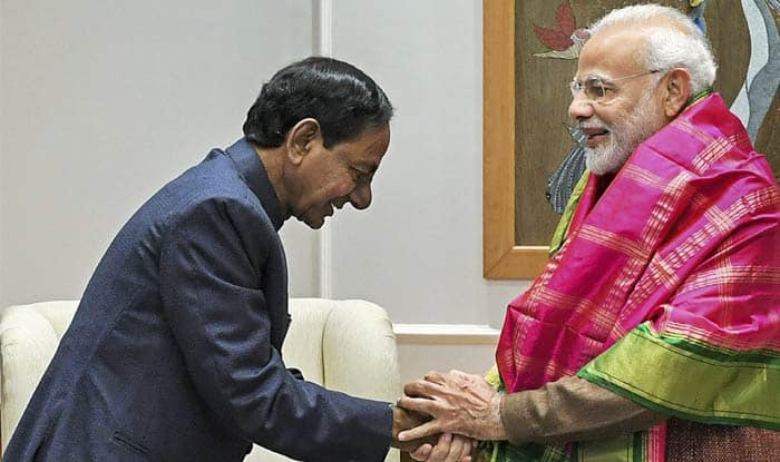 Amid Third Front Sans BJP, Congress Efforts, Telangana CM KCR Meets PM Modi, Discusses Host of Issues
