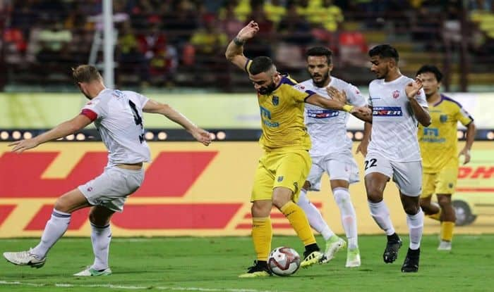 Kerala Blasters v pune City_Picture credits-Twitter