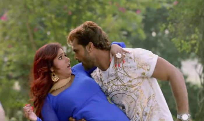 Bhojpuri Hot Couple Khesari Lal Yadav And Priyanka Singh's Latest Song Lagawe Boro Plus Featuring Their Sizzling Chemistry Becomes Instant Hit; Clocks Over Two Lakh Views – Watch