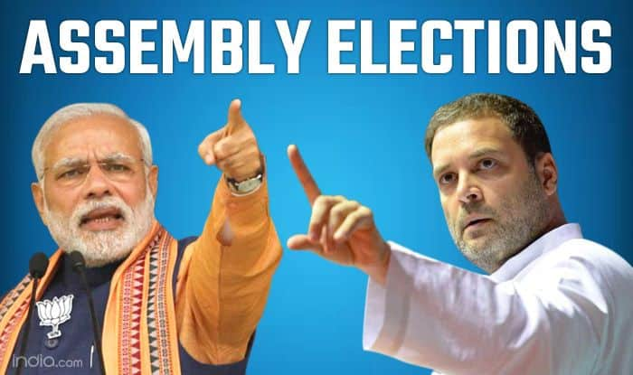 Assembly Election Results 2018 Complete Winners List; State, Party And Constituency Wise: Rajasthan, Madhya Pradesh, Chhattisgarh, Telangana And Mizoram