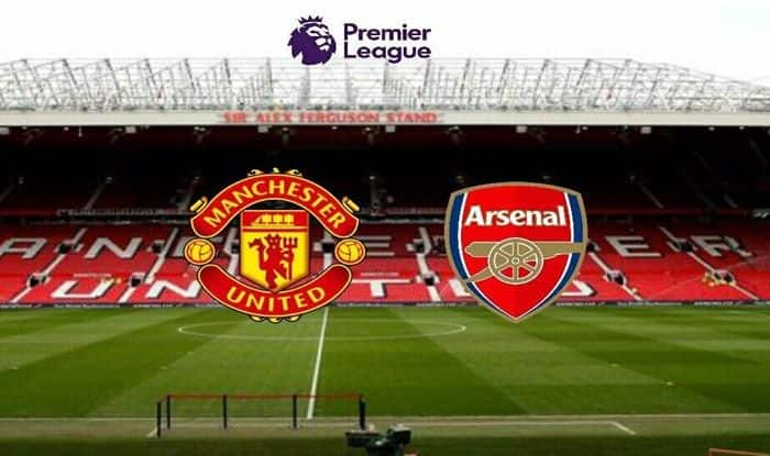 Manchester United vs Arsenal Picture credits-Twitter