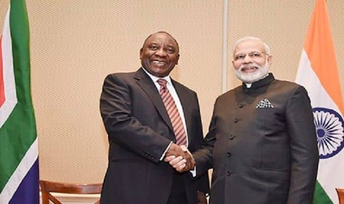 South Africa President Cyril Ramaphosa Accepts PM Modi's Invitation to be Chief Guest For Republic Day Celebrations in 2019
