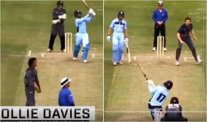 Young Aussie Ollie Davies Hits Six Sixes in an Over, Slams Record-Breaking Double Hundred in Cricket Australia Under-19 Championships | WATCH VIDEO