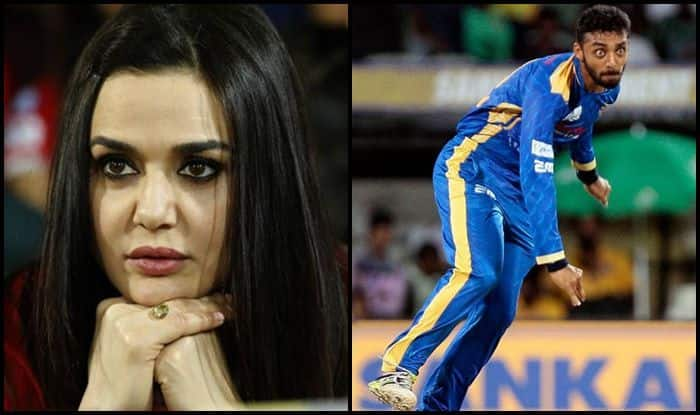 Preity Zinta-Varun Chakravarthy