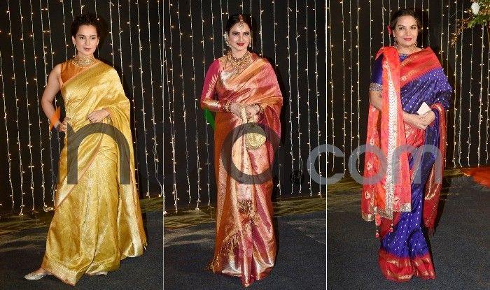 Celebrities at Priyanka-Nick reception