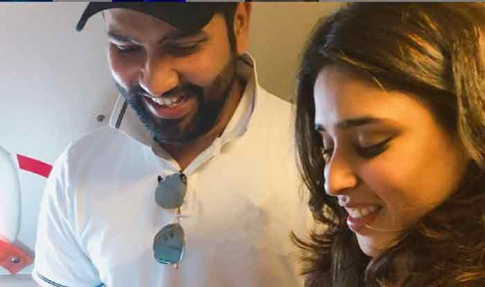 Rohit Sharma Shares First Glimpse of His Newborn Daughter With Wife Ritika Sajdeh on Twitter | SEE PIC