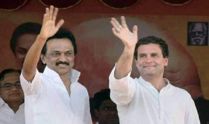 "Lok Sabha Elections 2019: MK Stalin Remains Firm on Rahul-For-PM Call; Naidu Says,""Will Decide Candidate After Polls"""
