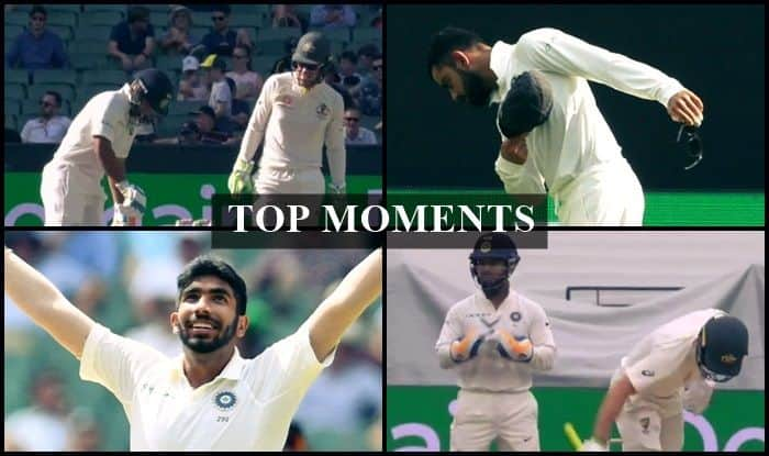 Top Moments from the Boxing Day Test