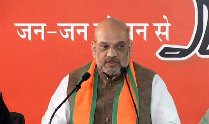 'Rahul's Entire Family Mired in Corruption': Amit Shah Attacks Congress Chief Over National Herald Case