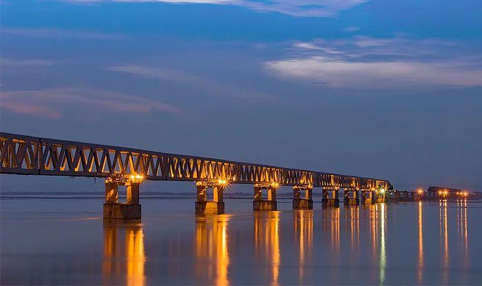 PM Modi to Inaugurate Bogibeel Bridge Today: Here's All You Need to Know About India's Longest Rail-Road Bridge