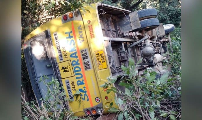 Himachal Pradesh: School Bus Falls Into Ditch, Leaves 35 Students Injured