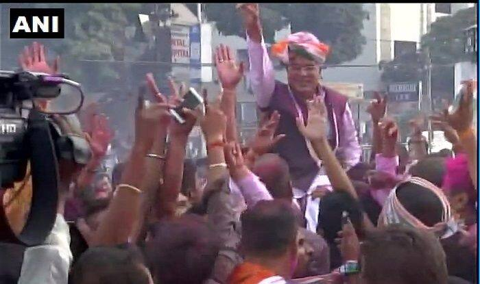 Chhattisgarh Election Results 2018 News Updates: Congress Crosses Halfway Mark, Takes Lead on 66 Seats; BJP Lags Behind