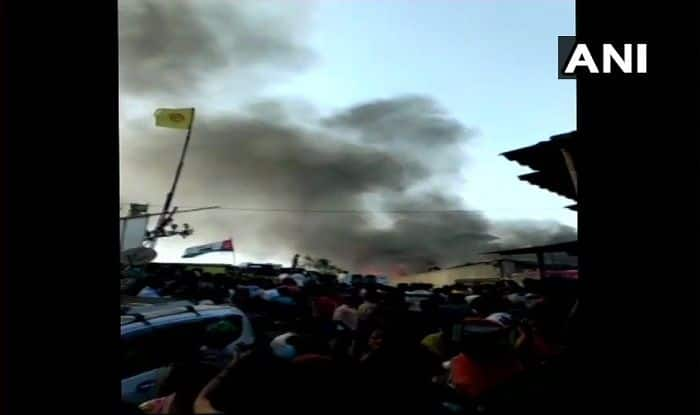 Mumbai: Fire Breaks Out in a Slum in Malad; No Casualties Reported