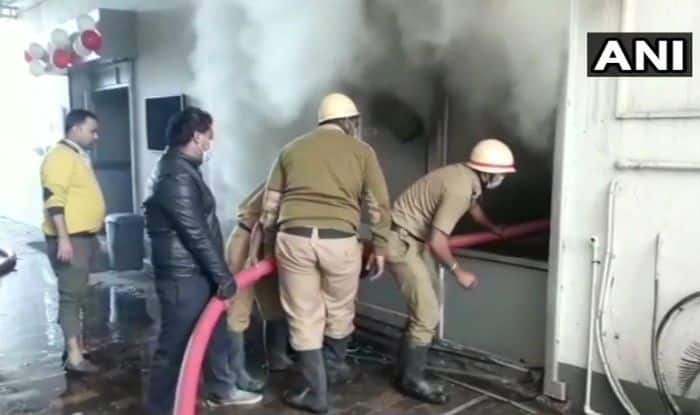 West Bengal: Fire Breaks Out at Siliguri Tea Godown; Fire Tenders at Work