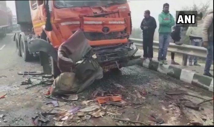 Haryana: 8 Killed, 10 Injured After 50 Vehicles Pile up on Rohtak-Rewari Highway Due to Fog