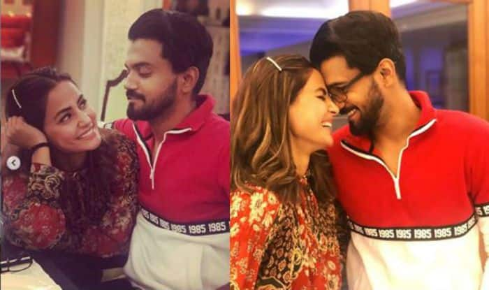Hina Khan Gets Romantic With Beau Rocky Jaiswal, Says Tum Ho With All Hearts- Check Out