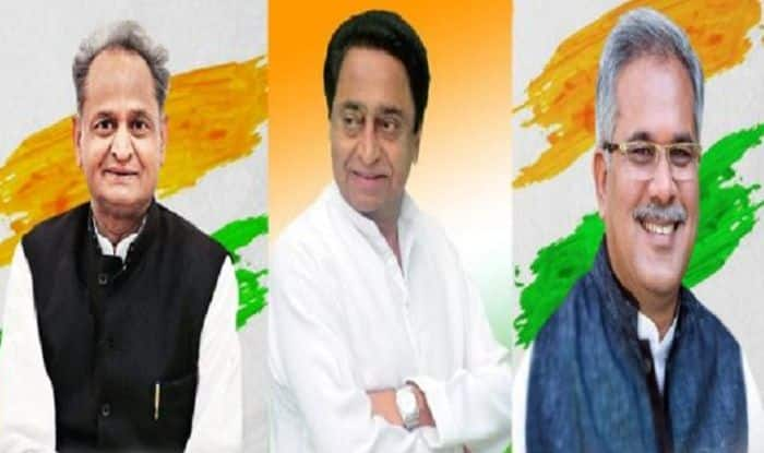 Assembly Election 2018: Opposition Solidarity to be on Display at Kamal Nath, Ashok Gehlot And Bhupesh Baghel's Swearing-in Ceremonies Today