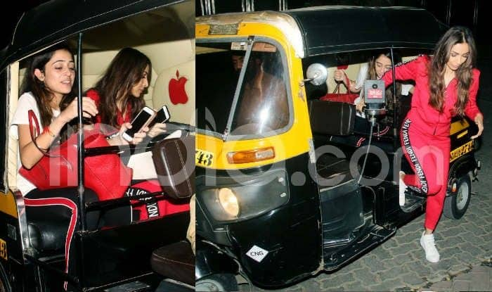 Malaika Arora Takes an Auto With Friend, Comes Out of it Wearing a Fendi Tracksuit, Check Latest Photos