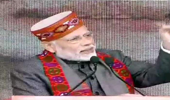 PM Narendra Modi Congratulates Himachal Pradesh CM Jai Ram Thakur For Completing One Year in Office; Attacks Congress Over OROP Implementation