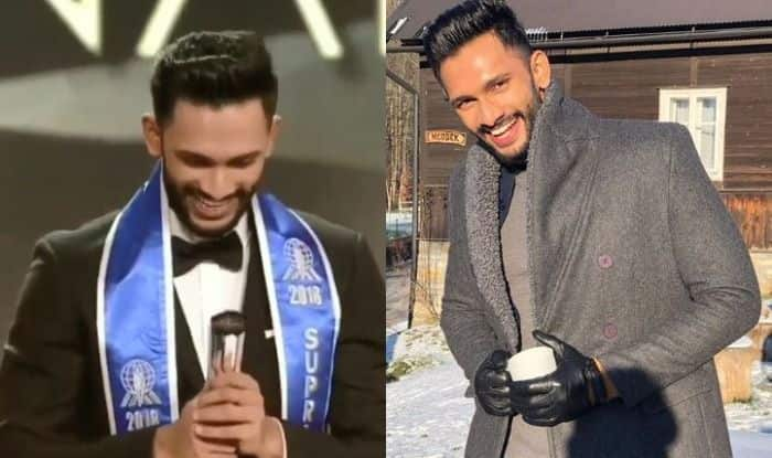 Mister India Prathamesh Maulingkar Wins The Trophy of Mister Supranational 2018; A Look at His Pictures