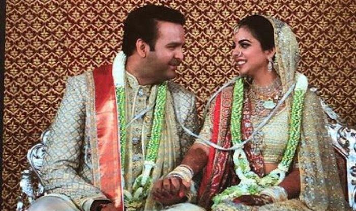Isha Ambani Finally Becomes Mrs. Anand Piramal, Amitabh Bachchan Gives a Speech on Kanyadaan; Watch Video