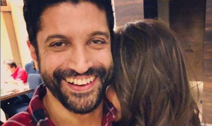 Farhan Akhtar Hugging Shibani Dandekar Will Make Your Heart Skip a Beat, See Adorable Pictures
