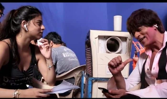 Zero: Shah Rukh Khan's Daughter Suhana Khan Accompanies Father to The Sets to Help Him Prepare For 'Mere Naam Tu', See Pic