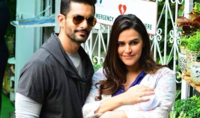 Neha Dhupia And Angad Bedi's Little One Turns One Month, Parents Share Adorable Post; Watch