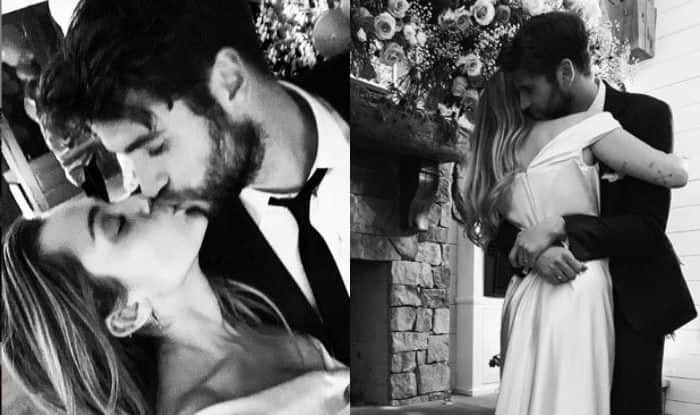 Miley Cyrus Takes Wedding Vows With Liam Hemsworth, Shares Dreamy Pictures