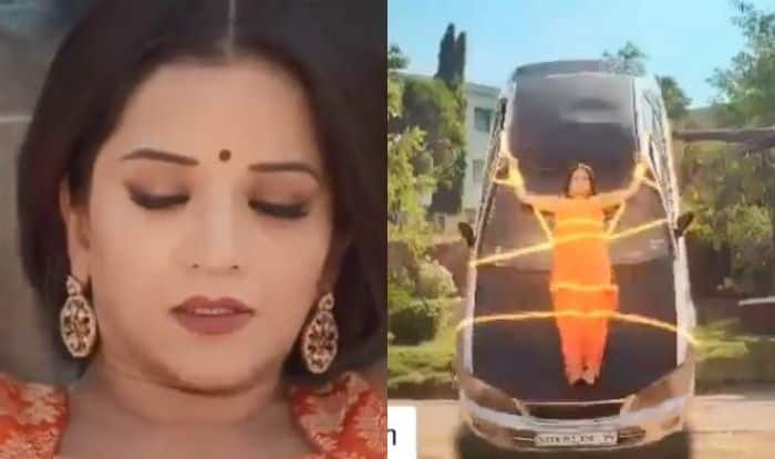 Bhojpuri Hottie And Nazar Fame Monalisa Shares Clip of Her Favourite Scene From The Show, Praises Her Director, Watch