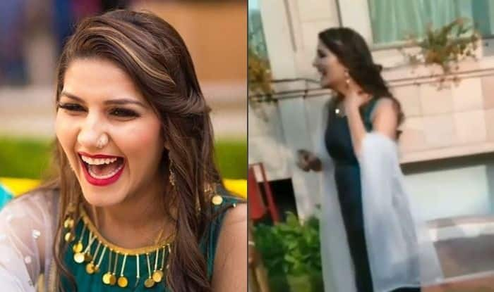 Haryanvi Hotness Sapna Choudhary Flaunts Her Sey Thumkas on Balle Balle Song From Bride And Prejudice, Watch