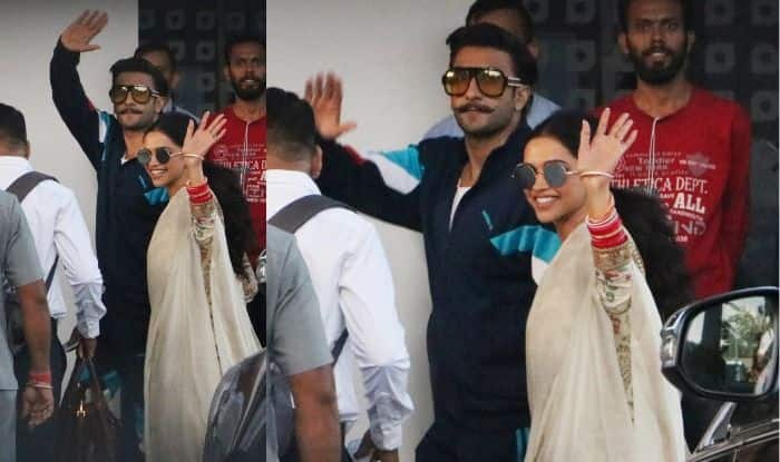 Isha Ambani – Anand Piramal Wedding: Newlyweds Deepika Padukone, Ranveer Singh Spotted at Mumbai Airport as They Head to Udaipur to Attend Ceremonies; See Pictures