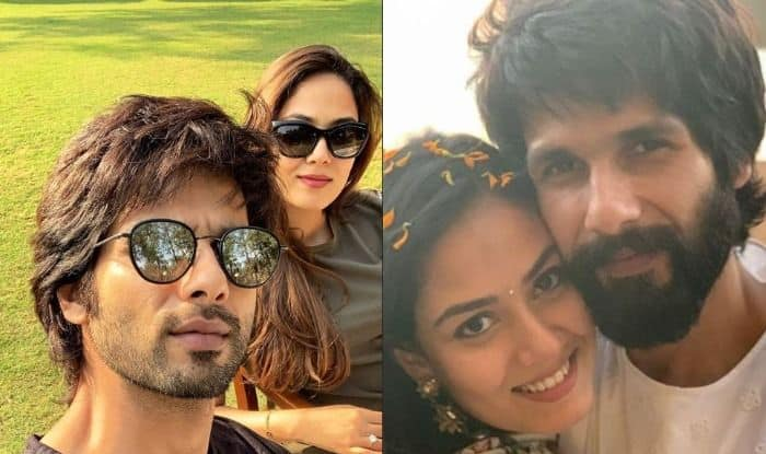 Shahid Kapoor's Sun-Kissed Picture With Wife Mira Rajput Screams Love, Check