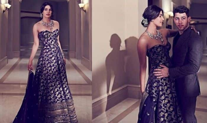 Priyanka Chopra-Nick Jonas Wedding Reception: Sabyasachi Mukherjee Shares Video of The Making of Bride's Blue Corset Style Lehenga, Watch