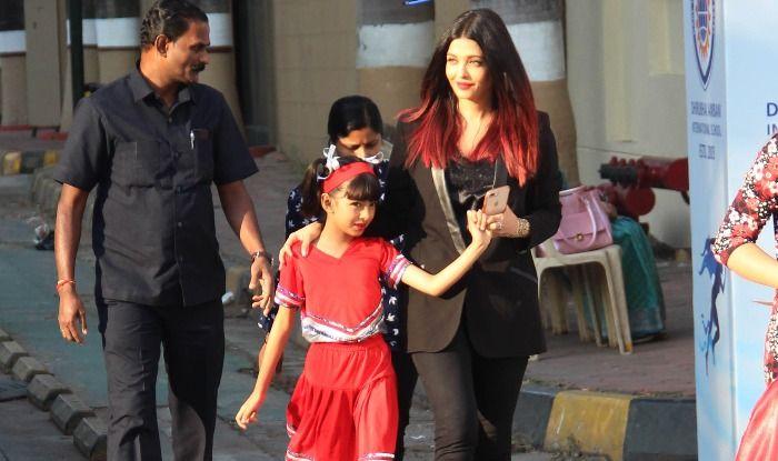 Aishwarya Rai Bachchan And Abhishek Bachchan Smile With Pride as Aaradhya Bachchan Performs at School Annual Day, Watch