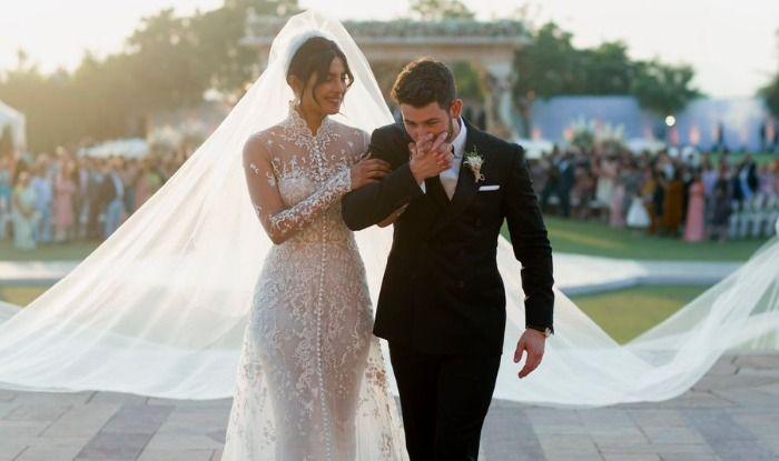 Priyanka Chopra – Nick Jonas Wedding: Groom Cannot Hold Onto His Tears as Bride Walks Down The Aisle; Watch Video