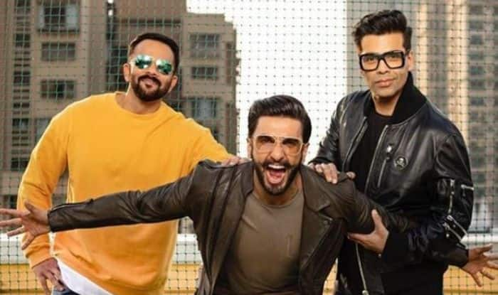 Simmba: Ranveer Singh Poses With His Boy Gang – Rohit Shetty And Karan Johar in His Latest Instagram Picture