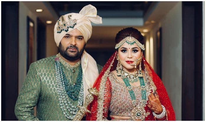Kapil Sharma-Ginni Chatrath Wedding: The Two Tie The Knot in a Punjabi Wedding at The Grand Cabbana Resort in Jalandhar, See Pic