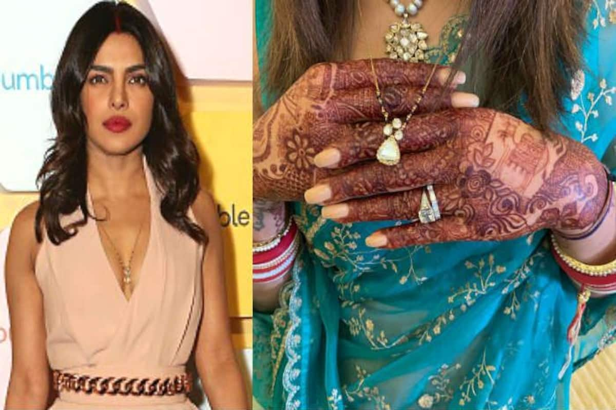 Priyanka Chopra S Mangalsutra Photo Four Diamonds In A Sleek
